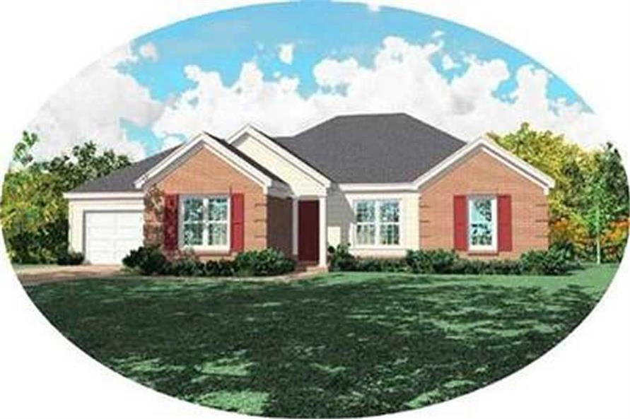 Main image for house plan # 8345