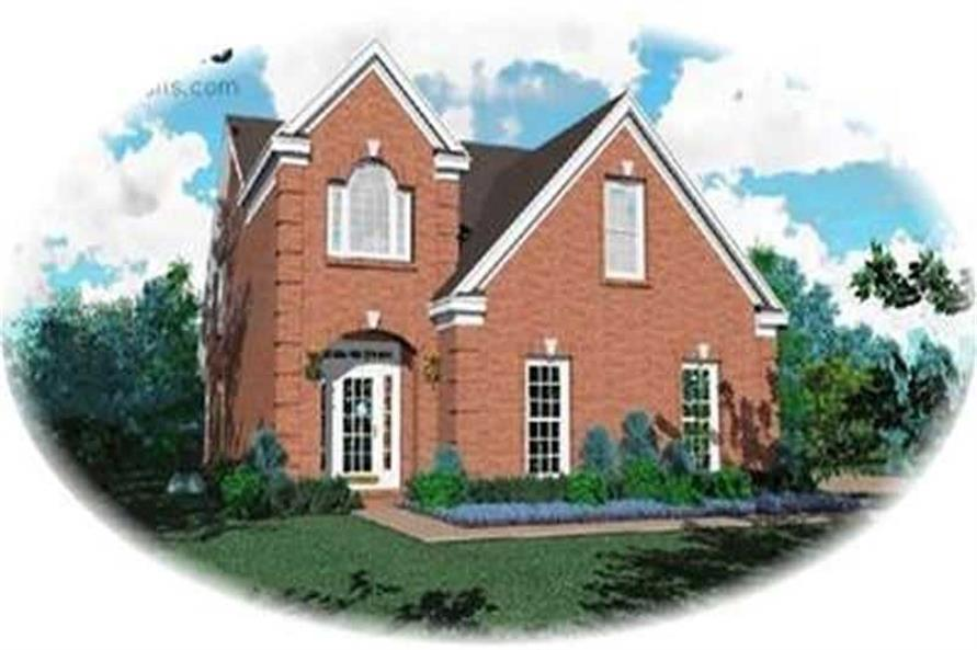Main image for house plan # 8299