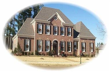 3-Bedroom, 3500 Sq Ft Luxury Home Plan - 170-2236 - Main Exterior