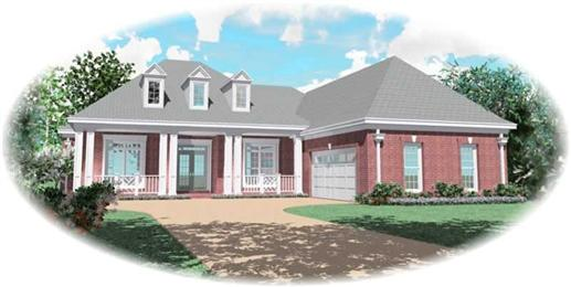 Main image for house plan # 10825