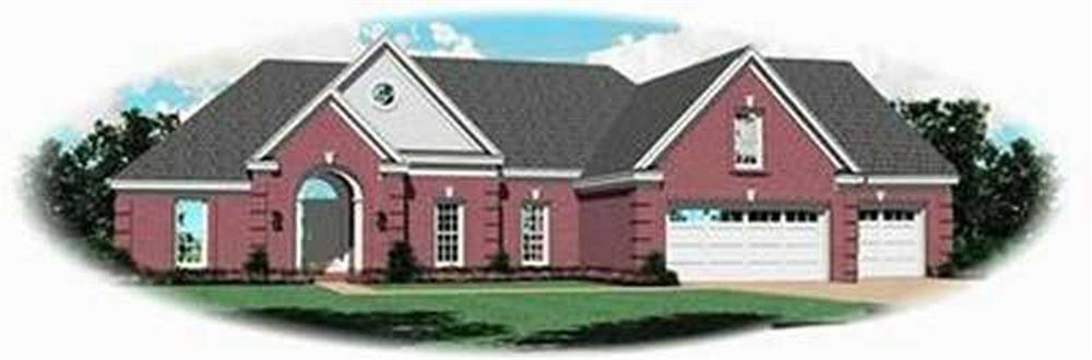 Main image for house plan # 8328