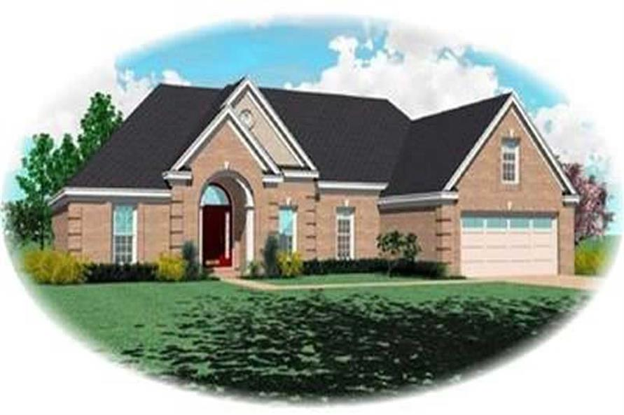 Main image for house plan # 8308