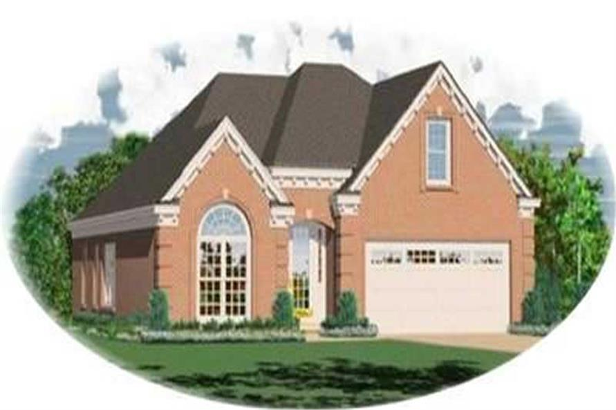 Main image for house plan # 8310