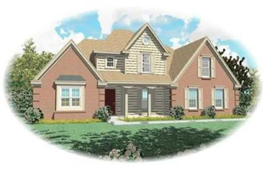 3-Bedroom, 2292 Sq Ft Contemporary House Plan - 170-2250 - Front Exterior