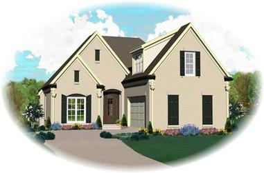 3-Bedroom, 2063 Sq Ft Country House Plan - 170-2257 - Front Exterior