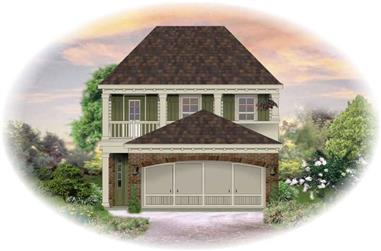 3-Bedroom, 1824 Sq Ft Traditional House Plan - 170-2272 - Front Exterior