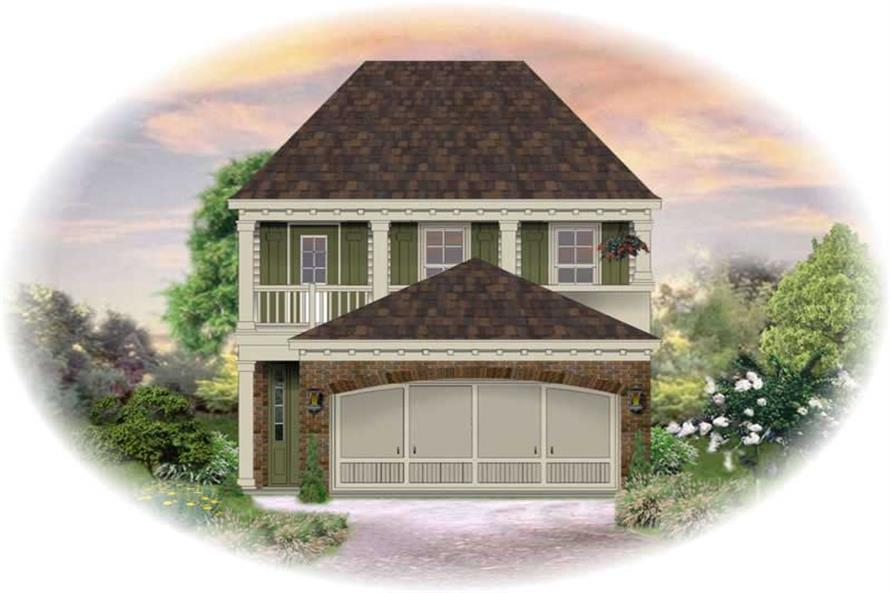 Main image for house plan # 13718