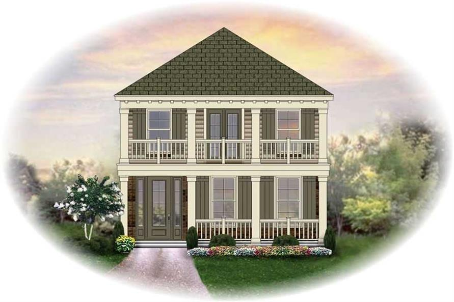 Main image for house plan # 13722