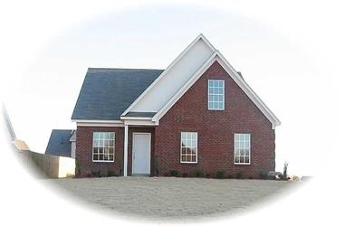 3-Bedroom, 1986 Sq Ft Traditional Home Plan - 170-2275 - Main Exterior