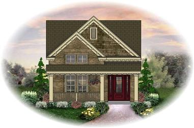 3-Bedroom, 1573 Sq Ft Small House Plans - 170-2289 - Main Exterior