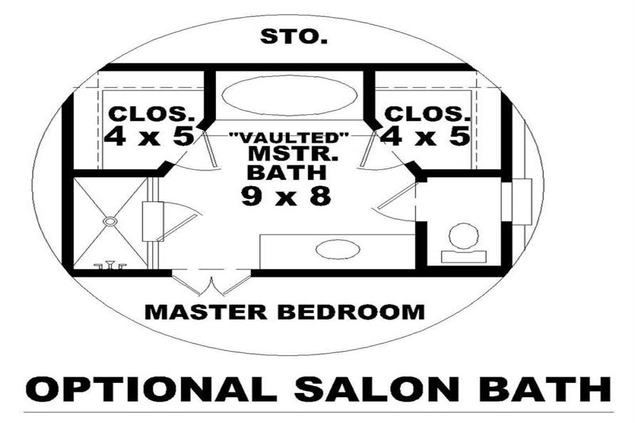 Home Plan Other Image of this 3-Bedroom,1573 Sq Ft Plan -170-2289