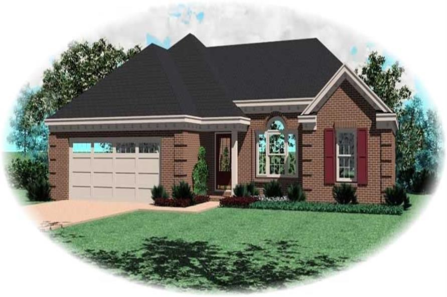 Main image for house plan # 13842