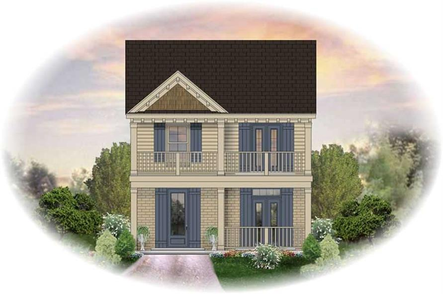 Main image for house plan # 13721