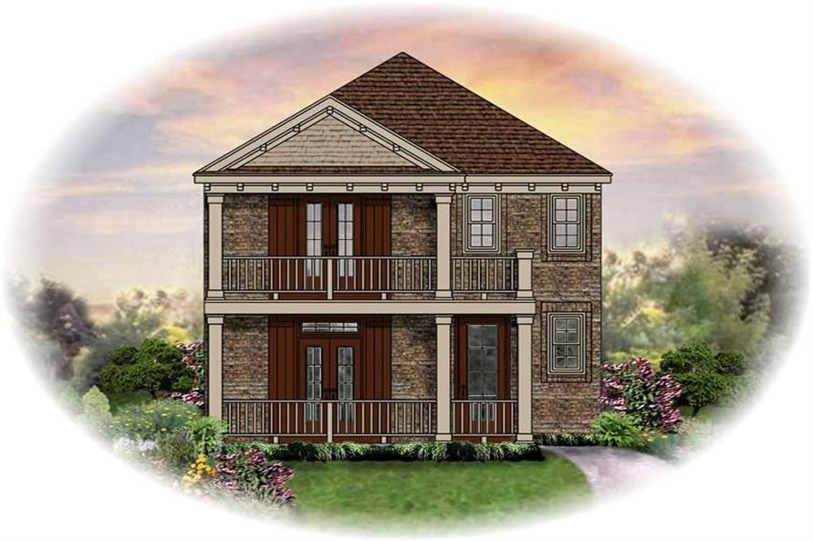 Main image for house plan # 13720