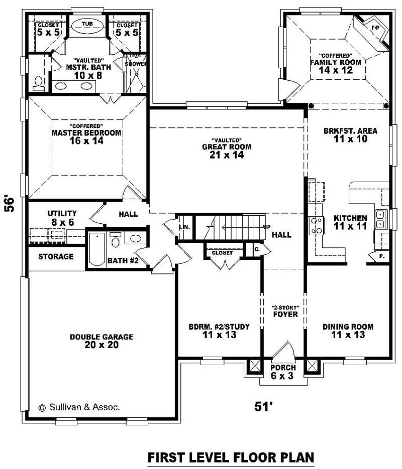 French house plans home design su b1884 966 493 f 11121 for Floor plan in french