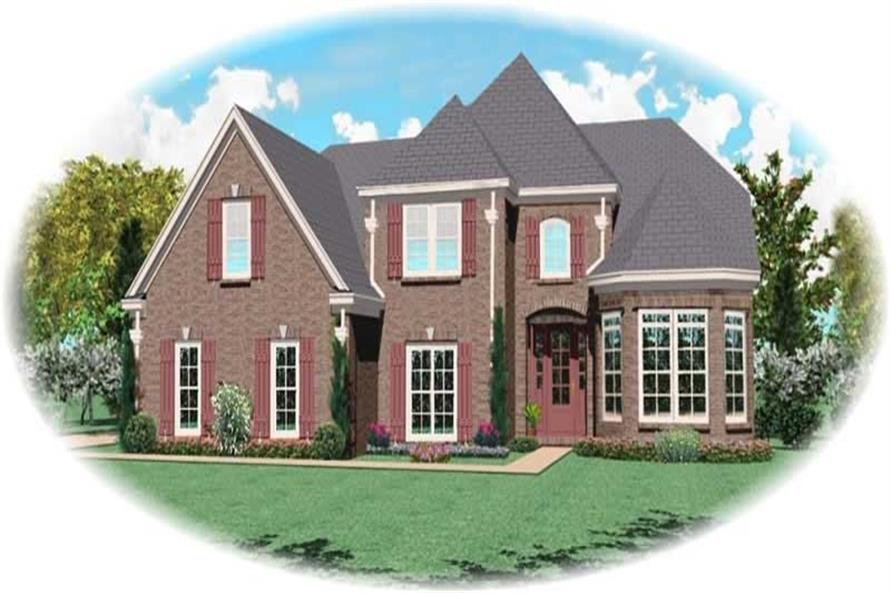 Main image for house plan # 11114