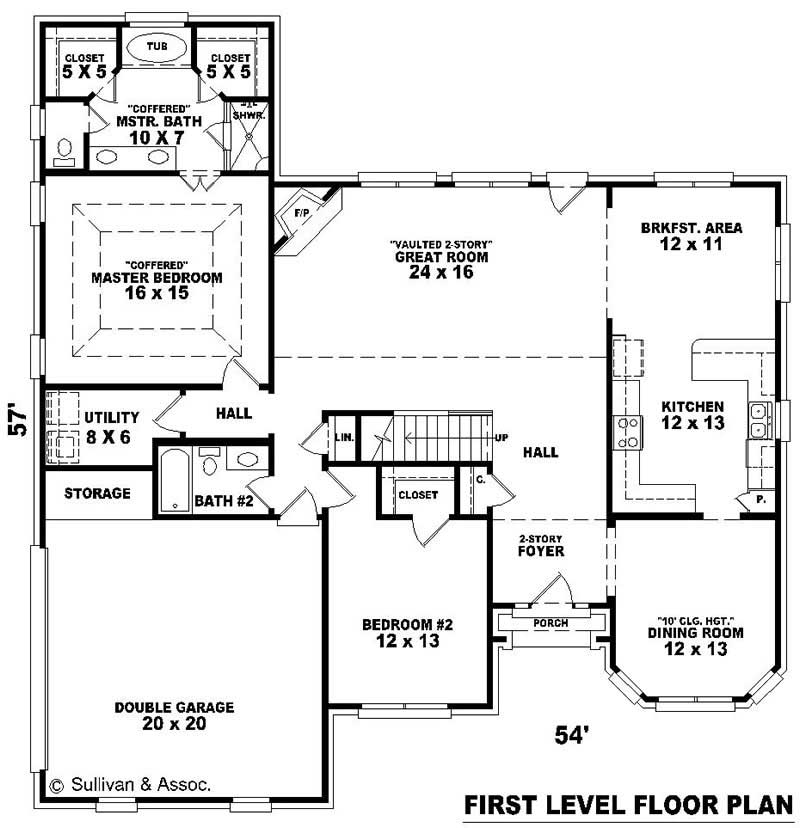 Traditional French House Plans Home Design Su B1884 650
