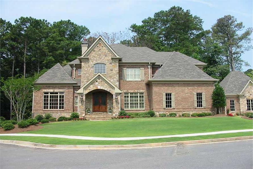 Home Exterior Photograph of this 4-Bedroom,4522 Sq Ft Plan -170-2463