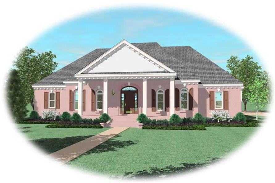 Main image for house plan # 11095