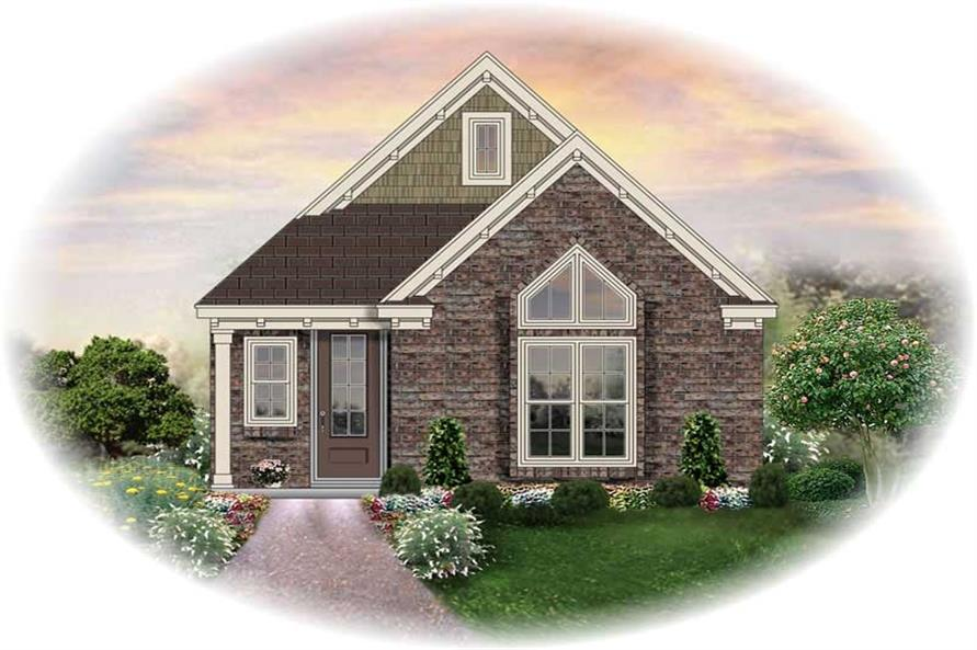 Main image for house plan # 13825
