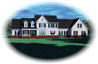 4-Bedroom, 4514 Sq Ft Luxury House Plan - 170-2526 - Front Exterior