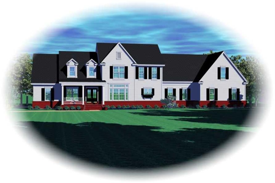 Main image for house plan # 10984