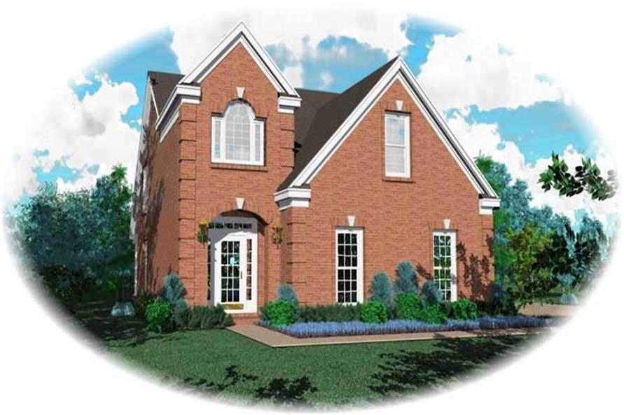 Main image for house plan # 10117