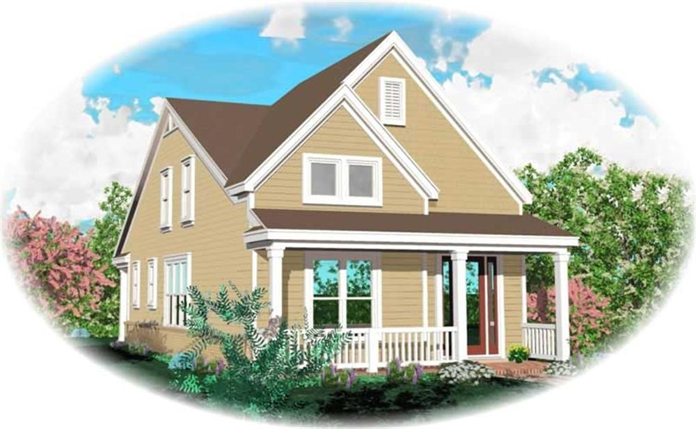Main image for house plan # 10156
