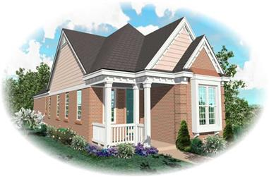 2-Bedroom, 1283 Sq Ft Craftsman Home Plan - 170-2640 - Main Exterior