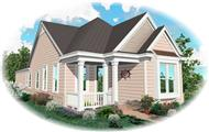 Main image for house plan # 10125