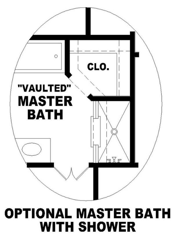 OPTIONAL MASTER BATHROOM