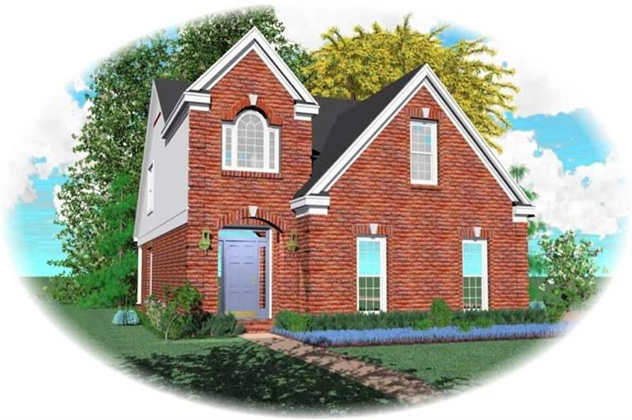 Main image for house plan # 10118