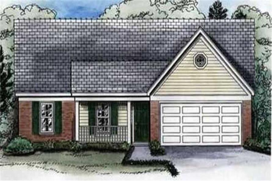 Main image for house plan # 10444