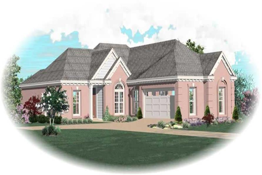 Main image for house plan # 10443
