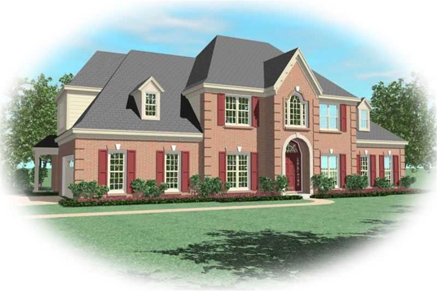 Main image for house plan # 10429