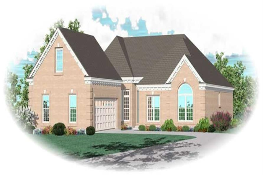 Main image for house plan # 10239