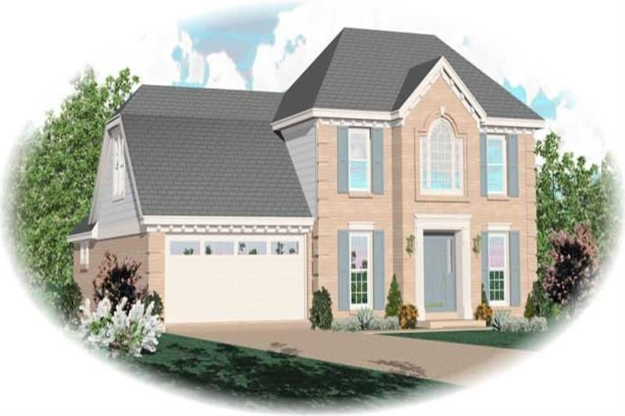 Main image for house plan # 10227