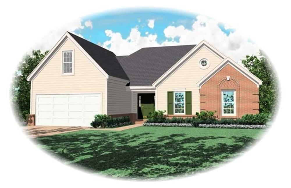 Small House Plans home (ThePlanCollection: Plan #170-2676)