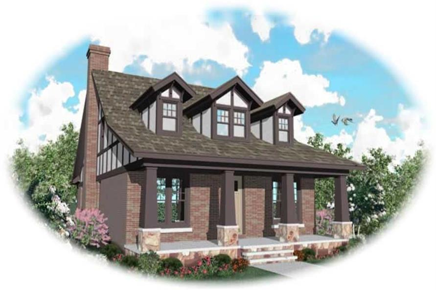 4-Bedroom, 3098 Sq Ft Craftsman Home Plan - 170-2679 - Main Exterior