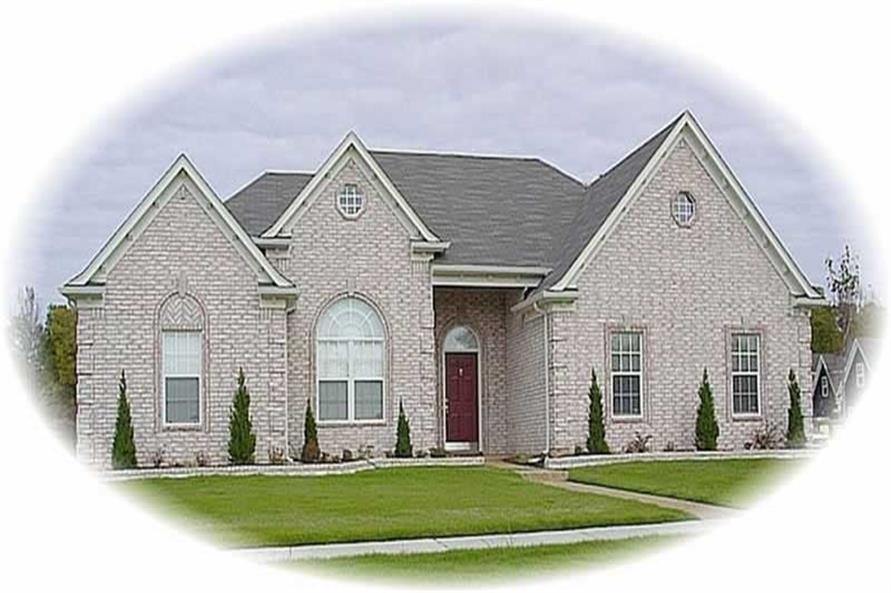 Main image for house plan # 10262
