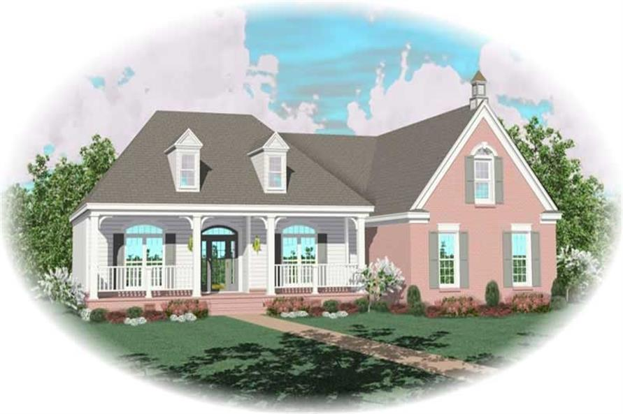 Main image for house plan # 10198