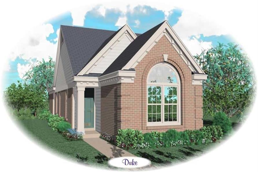 Main image for house plan # 10157