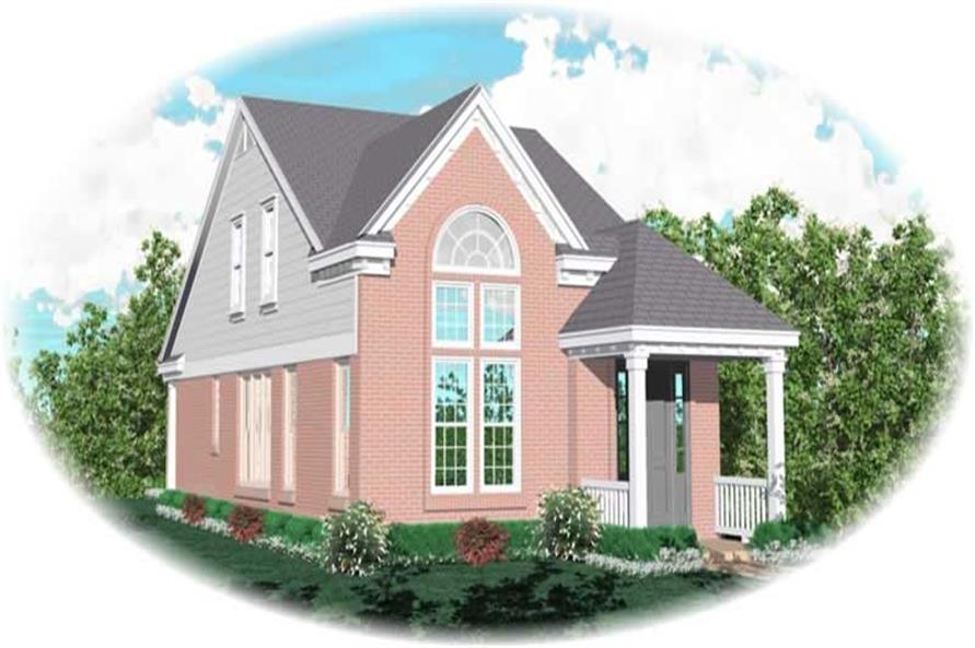 Main image for house plan # 10077