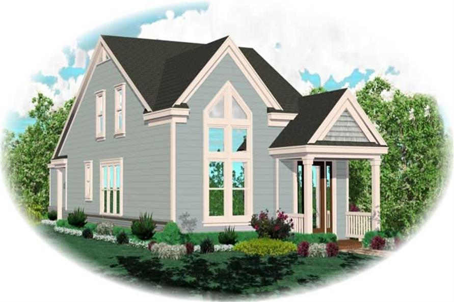 Main image for house plan # 10069