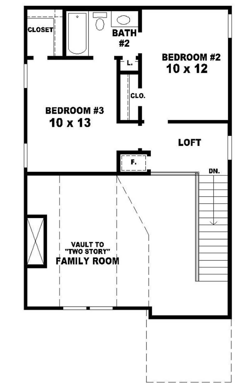House Plan 170 2700 3 Bedroom 1539 Sq Ft Country
