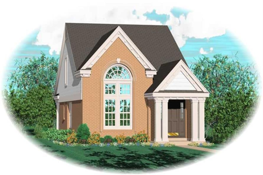 Main image for house plan # 10068