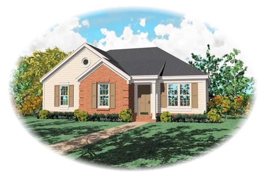 Main image for house plan # 10062