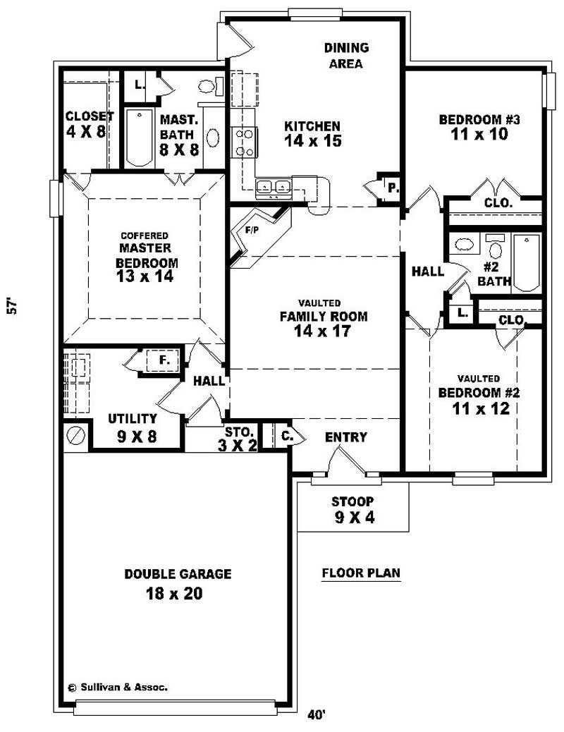 Small traditional french house plans home design su for Cost to build 1300 square foot house