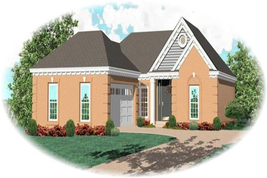 Main image for house plan # 10406