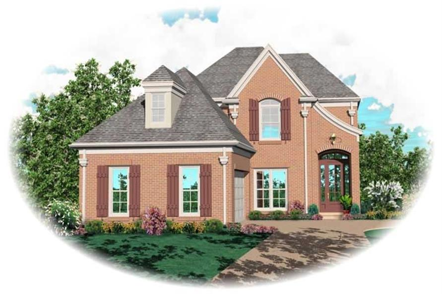 Main image for house plan # 10400